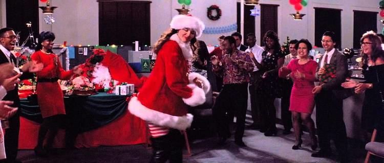 Angie (1994 film) Geena Davis thigh booted Santa in Angie 1994 YouTube