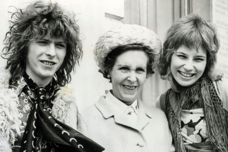 Angie Bowie Angie Bowie David held my throat and began to strangle me with his