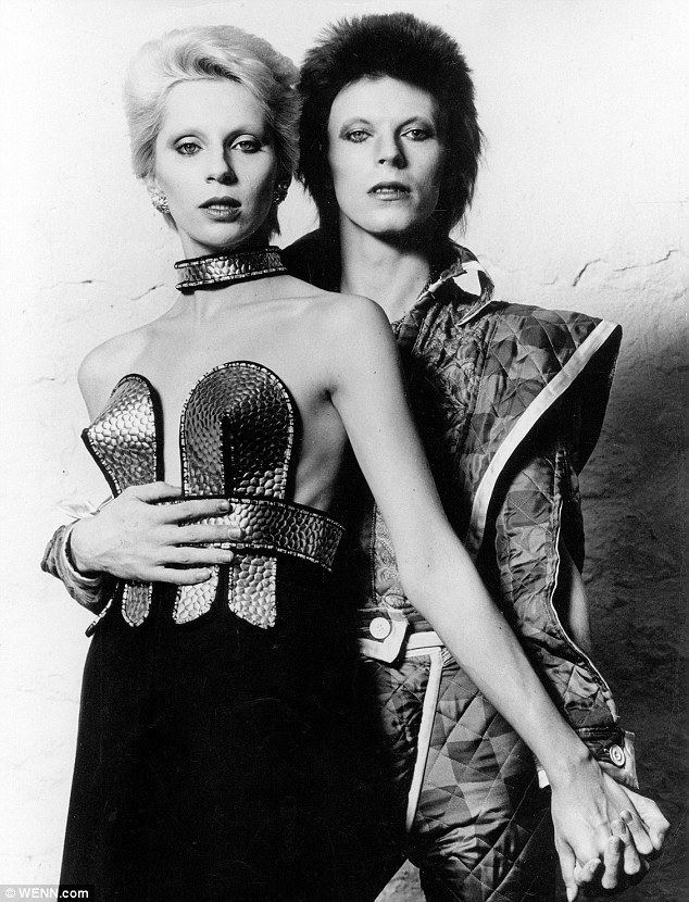 Angie Bowie David Bowie39s ex ANGIE BOWIE gives her account of their doomed love
