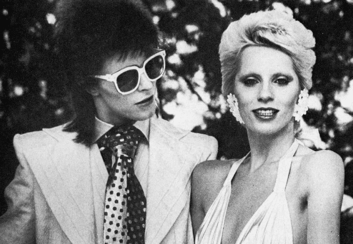 Angie Bowie Relationships and the Cards David Bowie and Iman and Angie Bowie