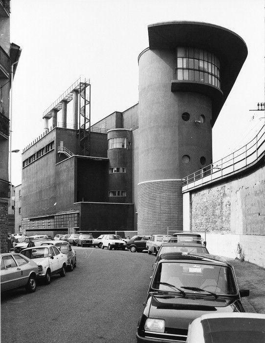 Angiolo Mazzoni Machinery shed and power station Santa Maria Novella Station