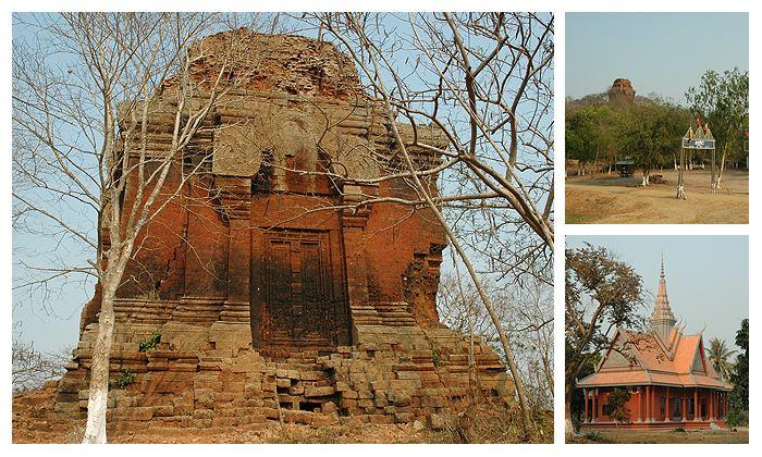 Angkor Borei and Phnom Da Khmer Angkor Temples Phnom Da and Angkor Borei