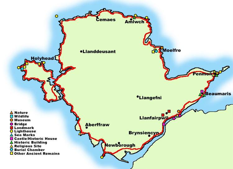Anglesey Coastal Path Anglesey Coastal Path
