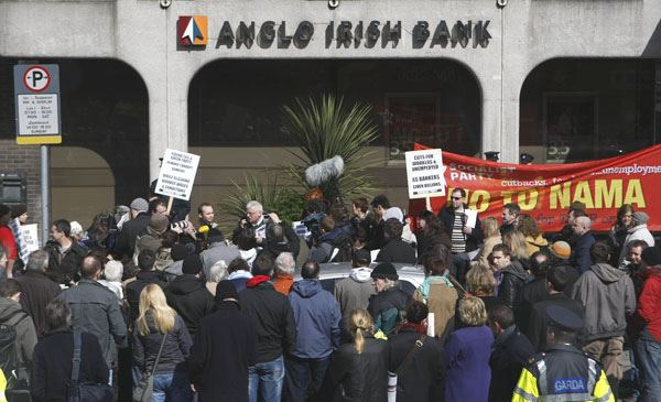 Anglo Irish Bank hidden loans controversy