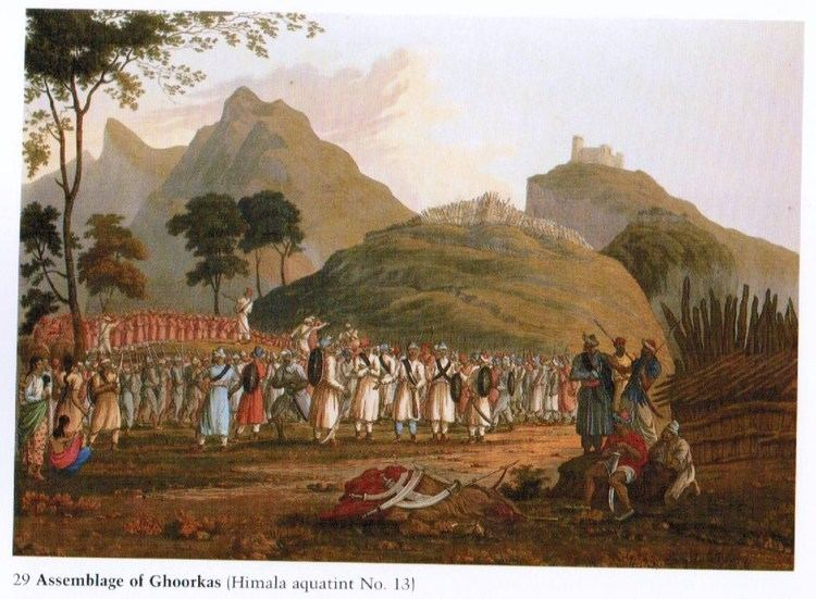 Anglo-Nepalese War Captain Bal Bhadra Kunwor and the AngloNepal War 18141816 Sir