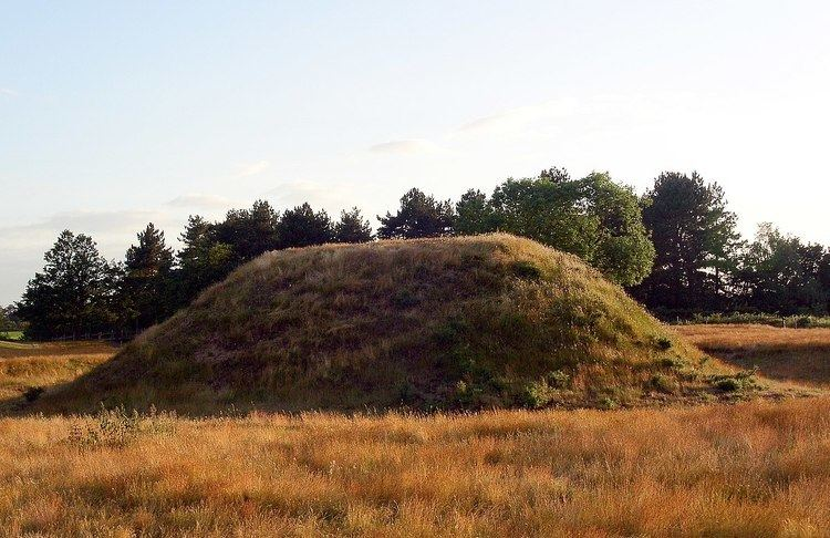 Anglo-Saxon burial mounds