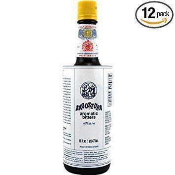 Angostura bitters Amazoncom Angostura Aromatic Bitters 16oz Cocktail Drink