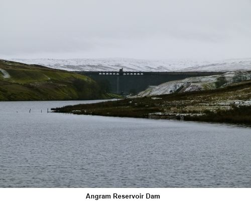 Angram Reservoir wwwhappyhikercoukMyWalksNorthYorkshireScarHo