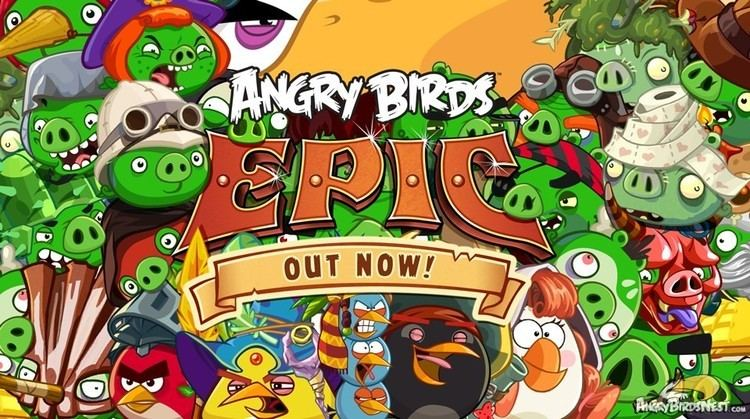 Angry Birds Epic We have liftoff Angry Birds Epic is Out Now for iOS Android and
