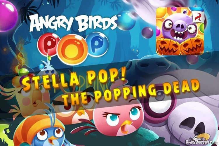 Angry Birds POP! Angry Birds Pop Update Adds The Popping Dead AngryBirdsNest