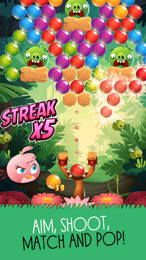 Angry Birds POP! Angry Birds POP Bubble Shooter Android Apps on Google Play