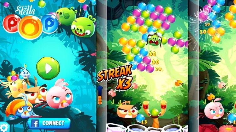 Angry Birds POP! Let39s Play Angry Birds Stella Pop Part 1 YouTube