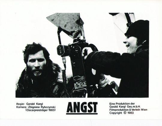 Angst (1983 film) Angst aka Schizophrenia 1983 HORRORPEDIA