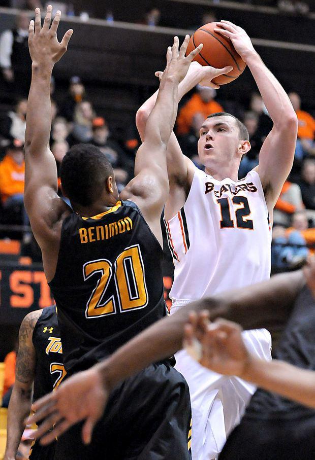 Angus Brandt OSU men39s basketball Nelsonless Beavers respond to beat