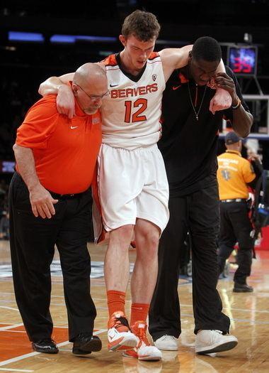 Angus Brandt OSU basketball Angus Brandt out for season will return