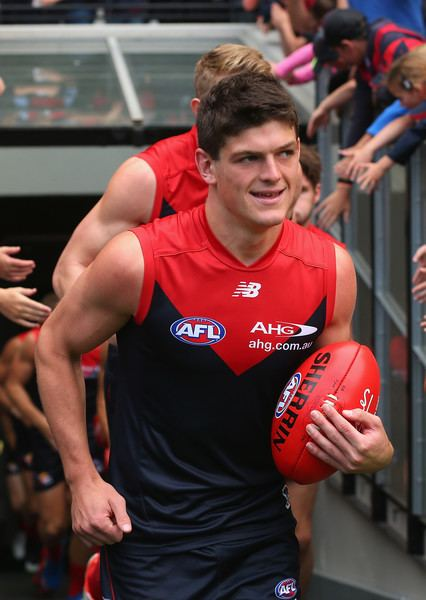Angus Brayshaw Angus Brayshaw Pictures AFL Rd 1 Melbourne v Gold