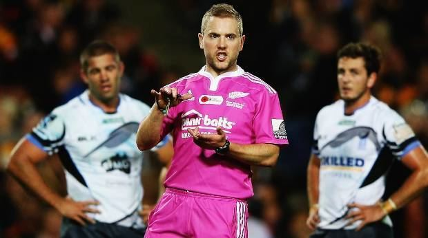 Angus Gardner Referee Review Angus Gardner in top form in Super Rugby Stuffconz