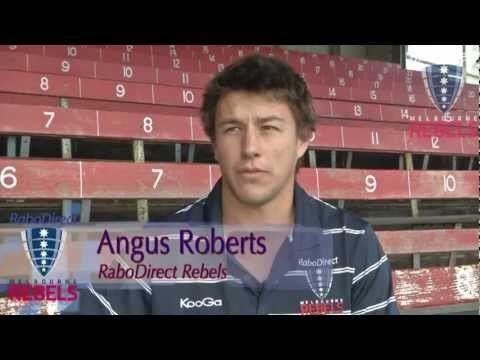 Angus Roberts Introducing new RaboDirect Rebels recruit Angus Roberts YouTube