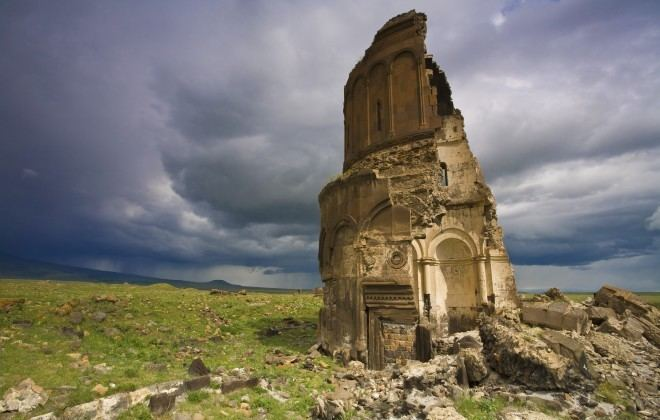 Ani Sauntering through the ruins of Ani Turkey Travel Feature Rough