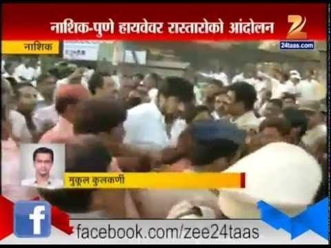 Anil Kadam Nashik Police Lathicharge On Anil Kadam Activist YouTube