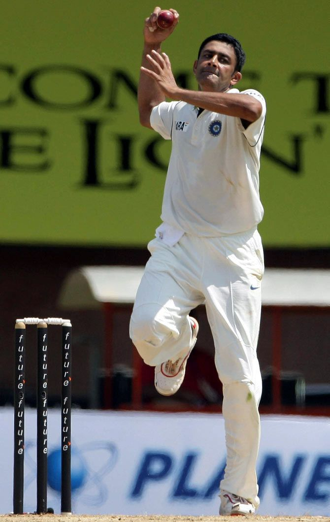 Anil Kumble Discipline determination commitment Rediffcom Cricket