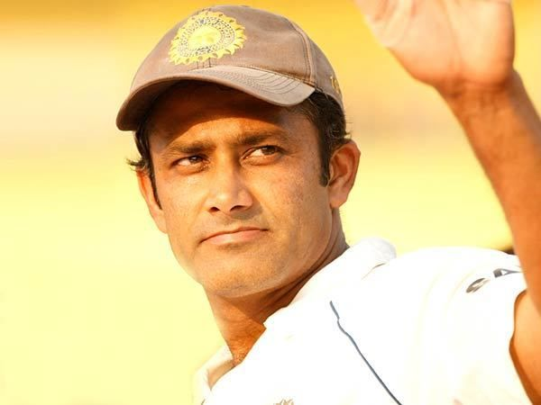 Anil Kumble (Cricketer) playing cricket