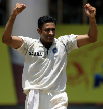 Anil Kumble Latest News Photos Biography Stats Batting averages