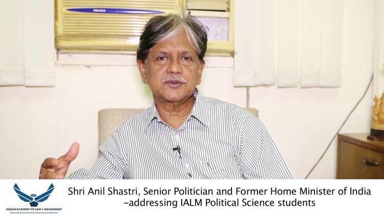 Anil Shastri Shri Anil Shastri Senior Politician and Former Home Minister of