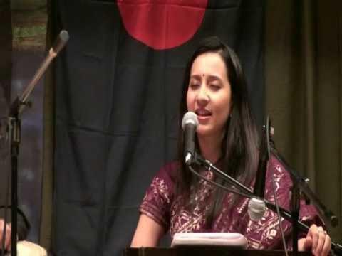 Anila (singer) Fund Raising Event of Chicago for DCI Children Anila Choudhury