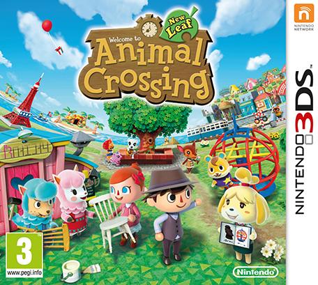 Animal Crossing Animal Crossing New Leaf Welcome amiibo Nintendo 3DS Games
