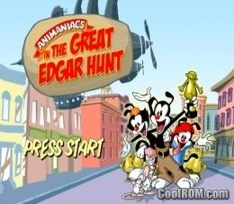 Animaniacs: The Great Edgar Hunt Animaniacs The Great Edgar Hunt ROM ISO Download for Nintendo
