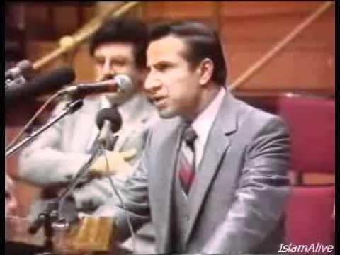 Anis Shorrosh Is Jesus God Ahmed Deedat VS Anis Shorrosh YouTube