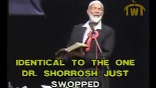 Anis Shorrosh Dr Anis Shorrosh gets owned in the same Bible passage by