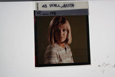 Anita Wall Amazoncom Slides photo of Kerstin Anita Wall a Swedish stage and