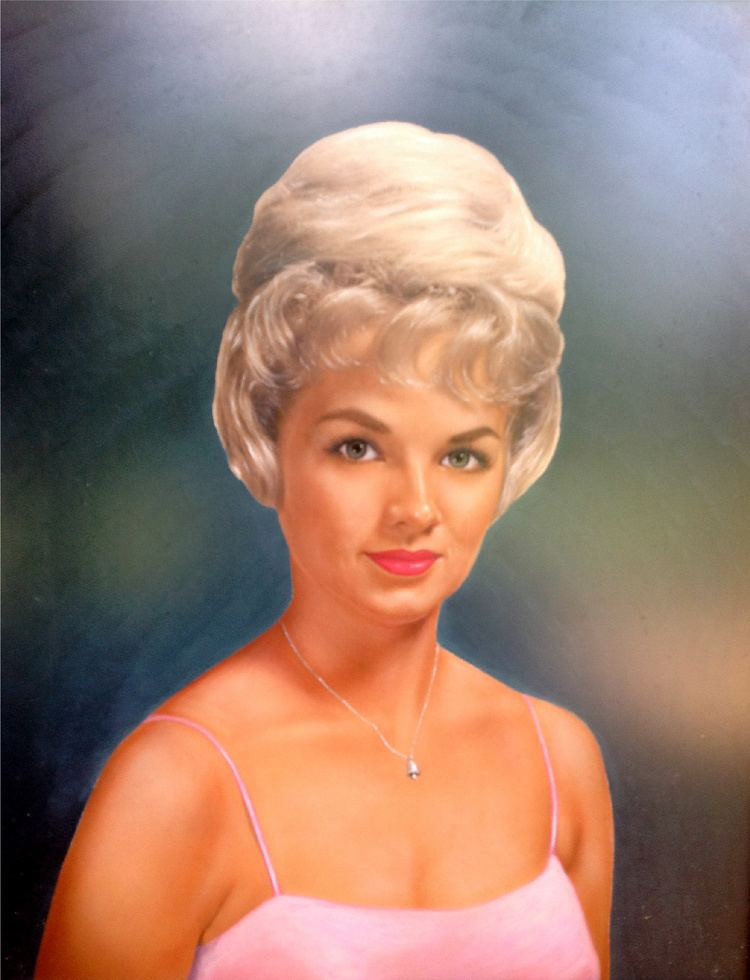 Anita Wood Anita Wood Portrait with Diamond Bell Necklace from Elvis