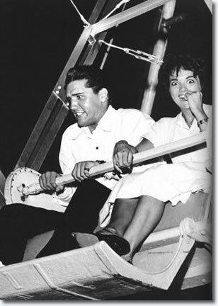 Anita Wood Rollin in the rocket Elvis Presley Anita Wood July 11 1960