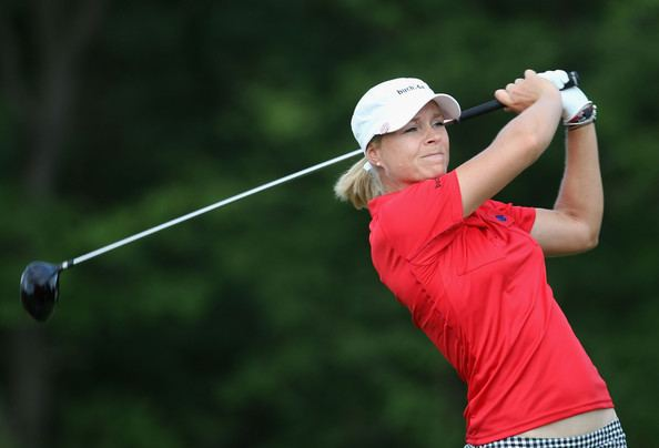 Anja Monke Anja Monke Pictures LPGA State Farm Classic Round Two