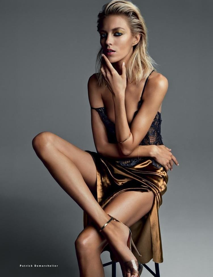 Anja Rubik Anja Rubik by Patrick Demarchelier for Vogue Russia March