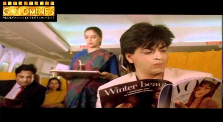 Anjaam Anjaam 1994 Hindi Movie Scene 7Shahrukh Khan Flight Scene YouTube