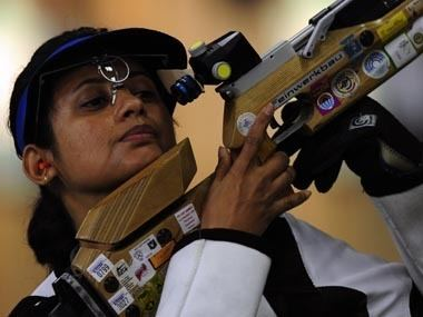 Anjali Bhagwat Asian Games 2014 India women end 6th in rifle 3 positions