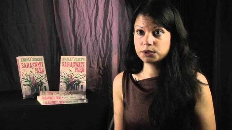 Anjali Joseph Saraswati Park an interview with Anjali Joseph YouTube