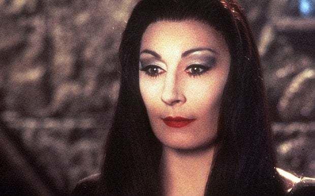Anjelica Huston I based Morticia Addams on Jerry Hall says Anjelica Huston Telegraph