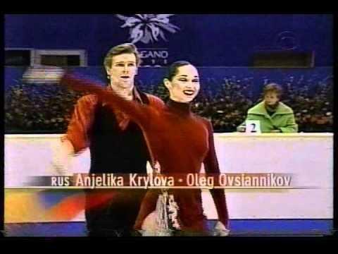Anjelika Krylova Krylova Ovsiannikov RUS 1998 Nagano Ice Dancing Compulsory