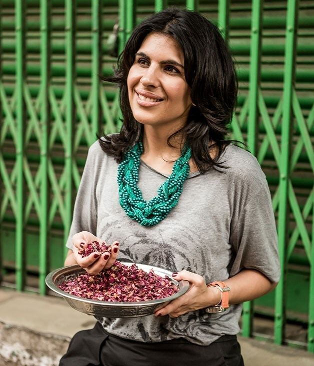 Anjum Anand Hyderabad with chef Anjum Anand Gourmet Traveller