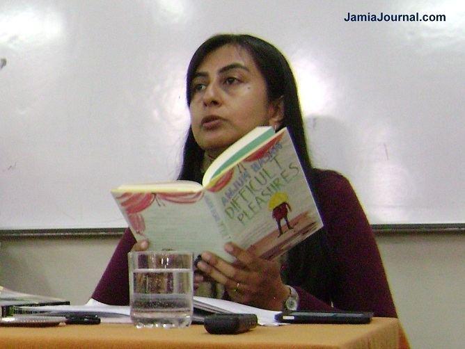 Anjum Hasan Writer Anjum Hasan Talks About Her Literary Work at Jamia