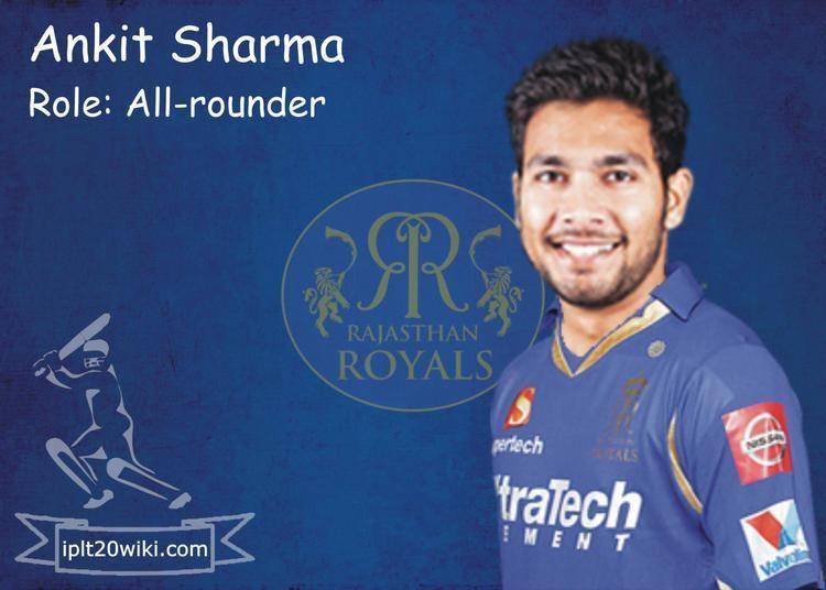 Ankit Sharma (cricketer) Ankit Sharma Rajasthan Royals RR IPL 2015 Player