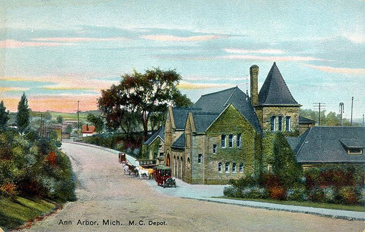 Ann Arbor, Michigan in the past, History of Ann Arbor, Michigan