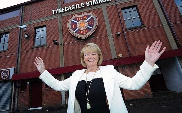 Ann Budge What Rangers can learn from Hearts39 remarkable rebirth