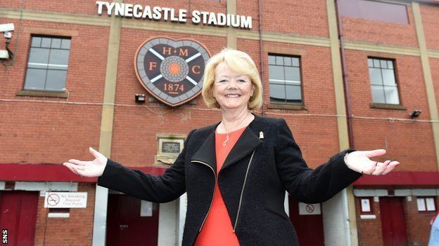 Ann Budge BBC Sport Hearts Mending 39broken39 club is longterm