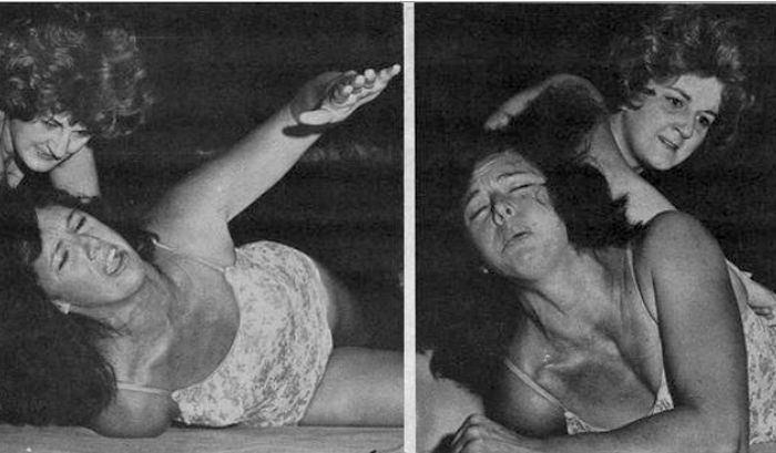 Ann Casey Ann Casey Barefoot Women Wrestlers Classic Wrestling